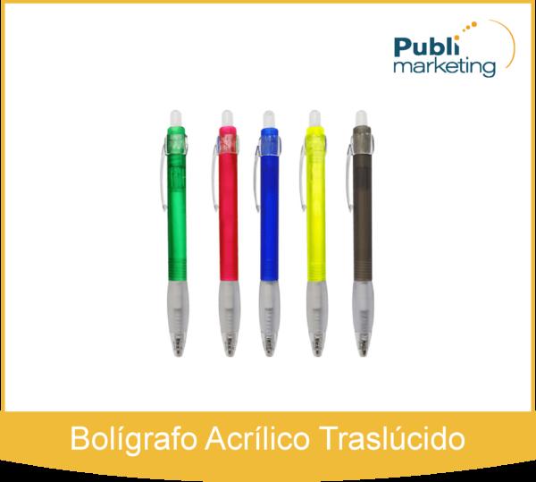 Bolígrafo Plástico Blanco 510