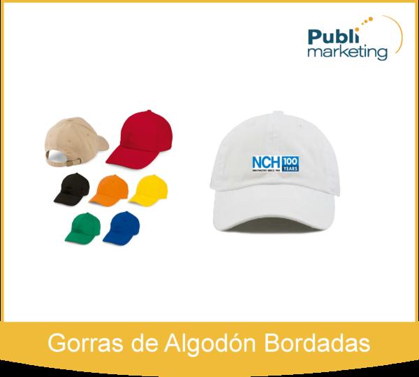 Gorras de Algodón Bordadas