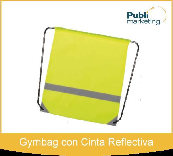Gymbag con Cinta Reflectiva