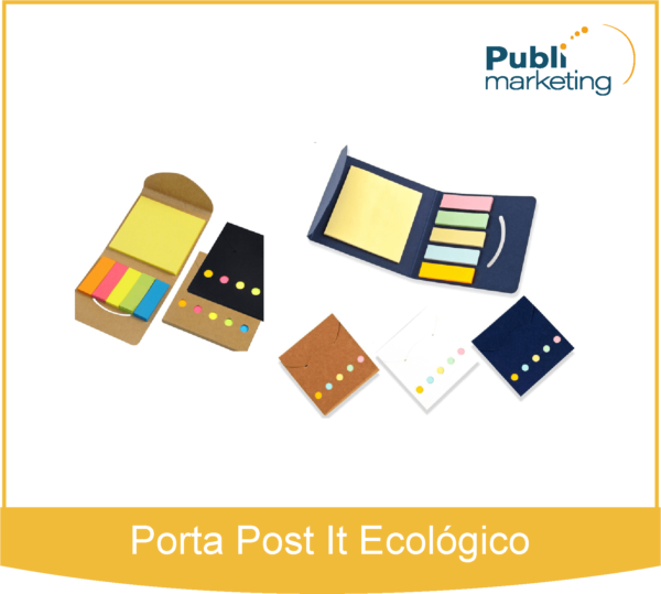 Porta Post It Ecológico