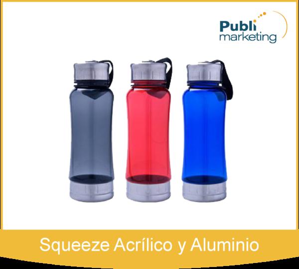 Squeeze Acrílico y Aluminio