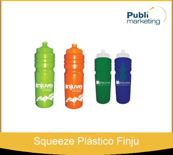Squeeze Plástico Finju