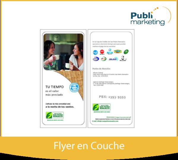 Flyer en Couche