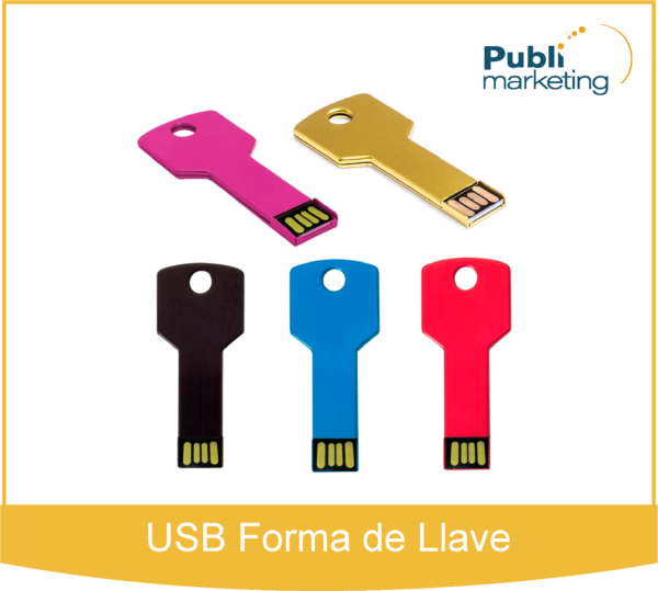 USB Forma de Llave