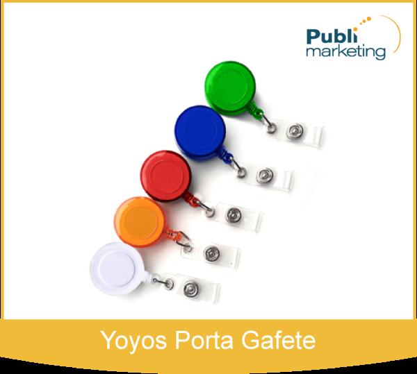 Yoyos Porta Gafete