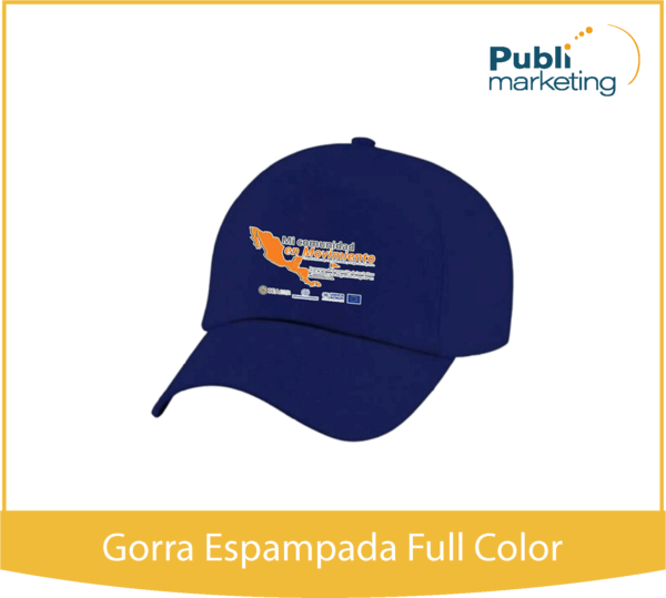 GORRA ESTAMPADA A FULL COLOR